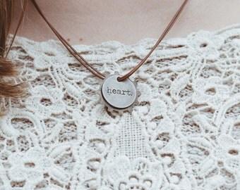 Gear Double Threaded Necklace