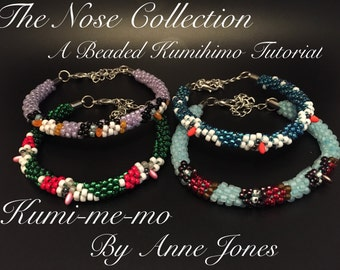 The Nose Collection Beaded Kumihimo Tutorial - BUNDLE OFFER