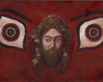 Apotropaic Dionysos Painting