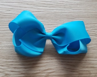 Blue Bow Inspired by Princesses