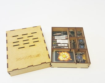 X-Wing Template and Damage Deck Holder Card Dice Holder Star Wars Tray