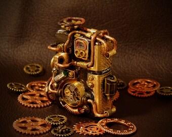 steampunk zippo lighter retro 2