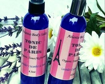 Organic Toner & Refresher facial toner organic toner organic face refresher skin refresher skin toner vegan toner