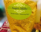 Angie's Gourmet Adobo Seasoning Rub - 7 oz. sent in resealable poly bag. FREE SHIPPING INCLUDED!