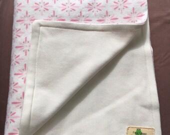 Organic Bamboo Cotton Baby Blanket