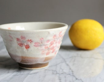 Tea Cup / coffee Japanese pattern Sakura in bloom