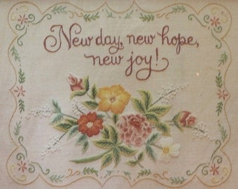 "Embroidery Sampler Kit by Current, NEW, 8"" x 10"" Size, Inspiration, Code 7148-8"