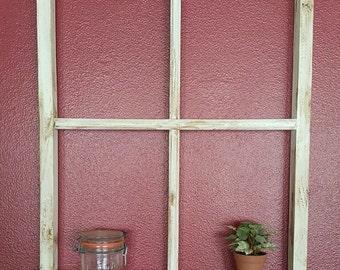"""Window Frame + Shelf - Size 20"""" x 26"""""""