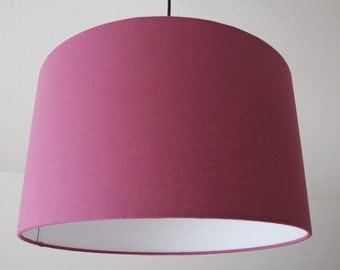 """Lampshade """"old pink""""(Altrosa)"""