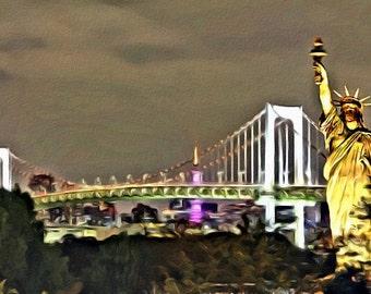 Brooklyn Bridge - Print or Canvas