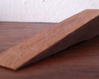 Door Wedge,Hand Made from Mahogany wood.