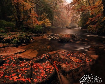 River Esk  -- Landscape Photography by M J Turner