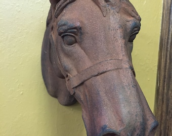 Composite Horse Head wall decor