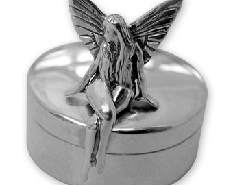 Sweetest Sterling Silver Toothfairy box