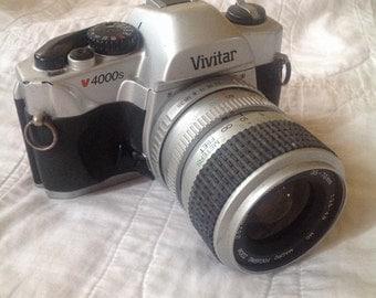 Vivitar V-4000 35mm SLR Camera Kit