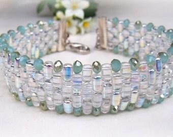 sparkling Bracelet mint/silver