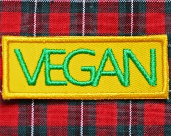 Vegan Iron on Patch
