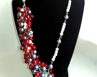 handmade necklace Venice Carnival