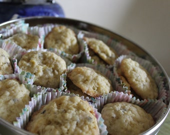 Victorian Lavender Cookies