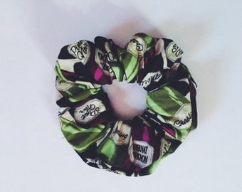 Wine Bottle Scrunchie