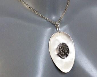 Silverware pendant flatware jewelry BH107
