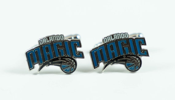 Orlando Magic Cuff Links -- FREE SHIPPING with USPS First Class Domestic Mail