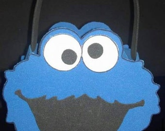Cookie Monster Candy/Favor Bag