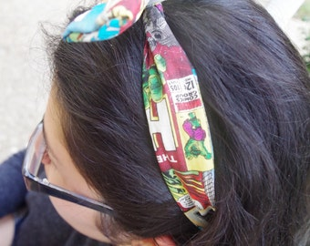 Marvel Themed Bunny Headband