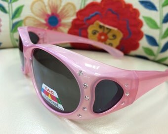 Bling Fit Over Polarized Sunglasses #4
