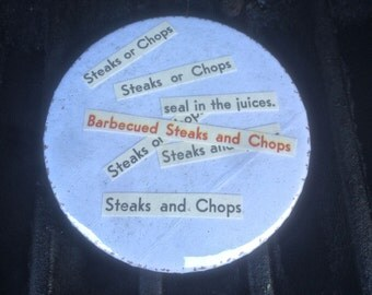 """Steaks or Chops?! 2"""" Button"""