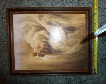 Print of Jesus hands