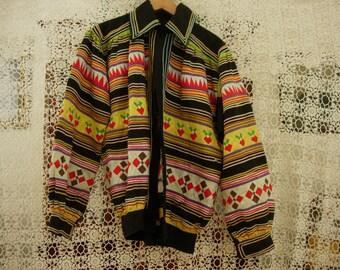 Seminole Patchwork Mens medium Jacket