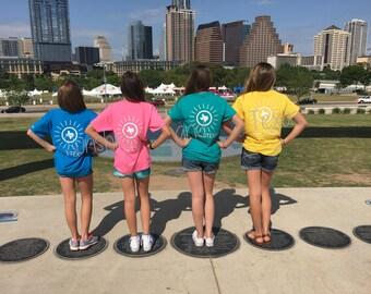 YOUTH - Sunshine and Texas Tshirt