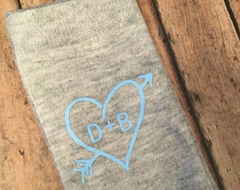 Personalized Wedding Socks For Bride or Groom