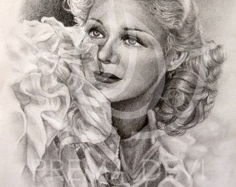 GINGER ROGERS portrait