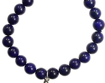 Lapis Lazuli Eternal Knot Bracelet