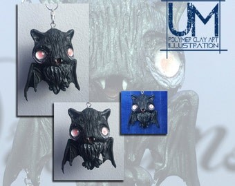 Creepy Bat Pendant