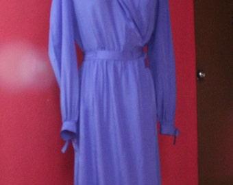 Cross over vintage dress