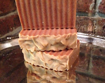 Lemongrass Tea Tree Goats Milk all natural soap handcrafted