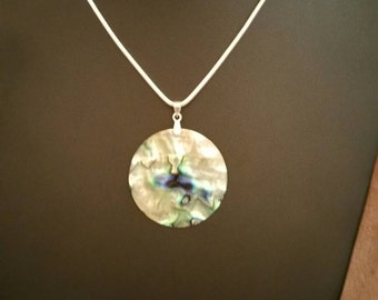 Abalone Necklace    SOLD