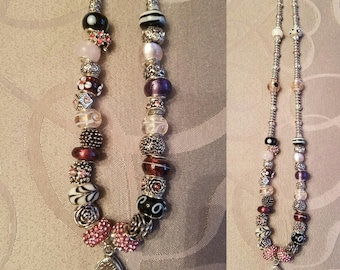 Classy Sparkly Lanyard or Necklace