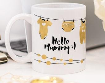 Baby shower mug, great present for new Mummy!