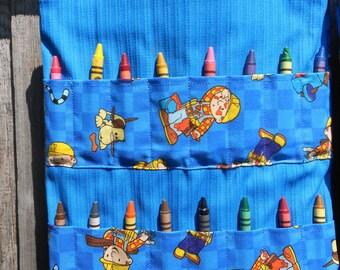 Bob the Builder Crayon Bag - Coloring Book Bag