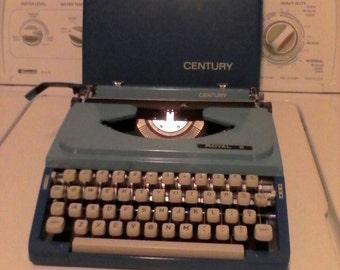 royal portable century series manuel typewriter