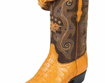 the general boot Cowgirl exotic to 6787-R skin alligator tail butter ID 5