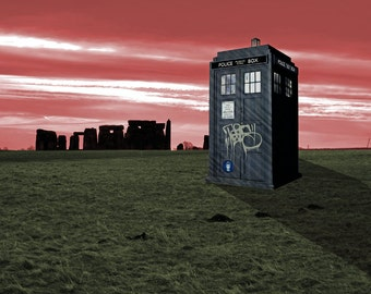 Doctor Who Landscape Poster