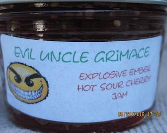 Explosive Ember Hot Sour Cherry Jam