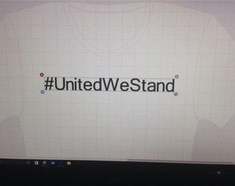 United We Stand Peace walk shirts