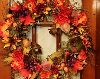 "24 "" Autumn wreath"
