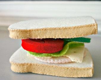 Felt Sandwich Set- Felt Food Pretend Play